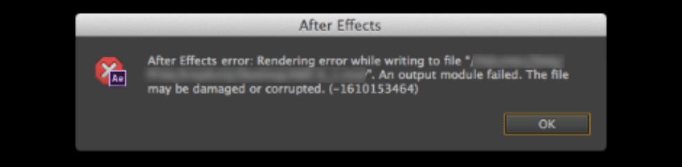 Output Module Failed