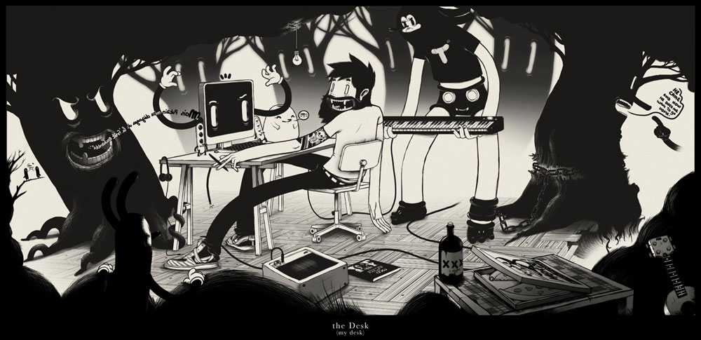 My Desk - via mcbess.com