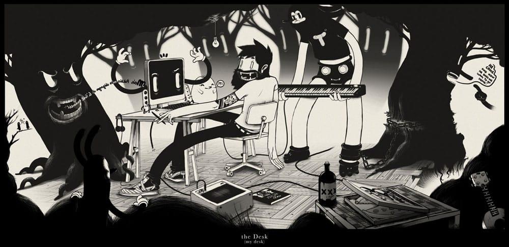 My Desk - via mcbess.com